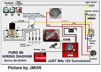 Attachment Php Attachmentid 123889 Stc 1 Thumb 1 D 1286619527 For 8N Ford  Tractor Wiring Diagram | 8n ford tractor, Ford tractors, FordPinterest