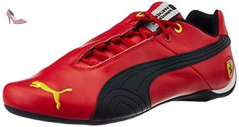 Futurecatlthsff5 - Sneakers Basses - Mixte Adulte - Noir (Black/Red) - 35.5 EU (3 UK)Puma xG0MBreWK