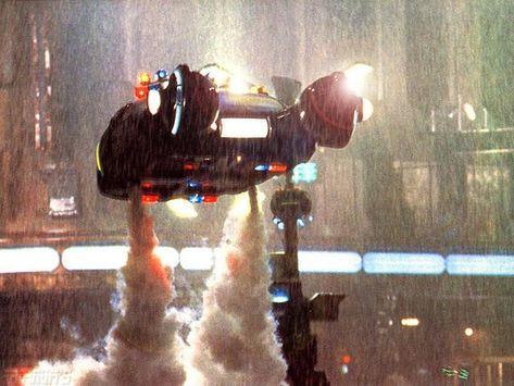 Movies Wallpaper : Blade Runner - Ship