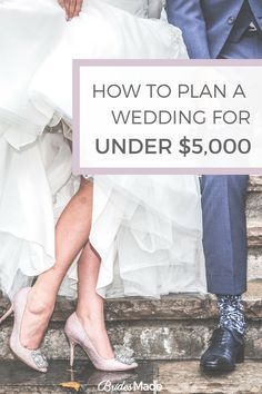 How to plan a wedding for under $5000