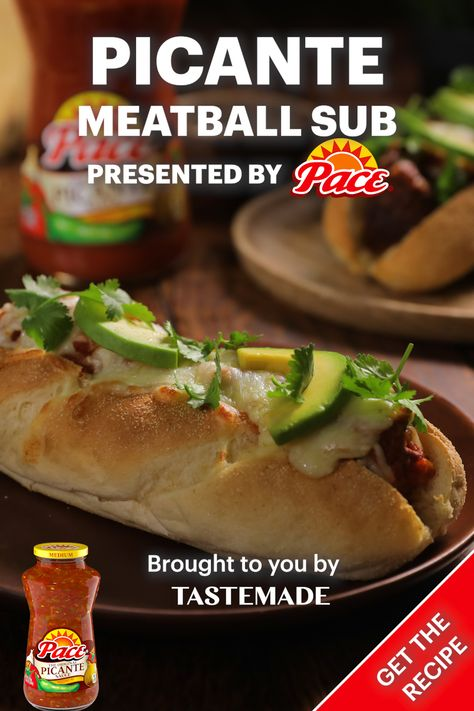 Picante Meatball Sub with Pace®
