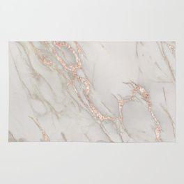 Marble Rose Gold Blush Pink Metallic By Nature Magick Rug Rose Gold Kitchen Metallic Rugs Rose Gold Rug