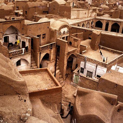 Travel To Iran - Kashan Teheran, Photo Images, Islamic Architecture, Vernacular Architecture, Arabian Nights, Brunei, Historical Sites, Aladdin, Islamic Art