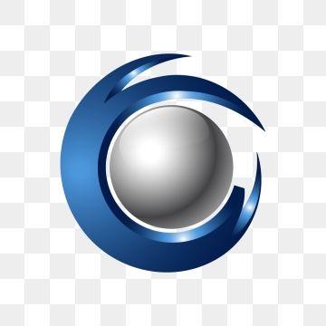Creative Abstract 3d Orbit Sphere Vector Logo Png And Vector Logo Design Free Templates Globe Logo Vector Logo
