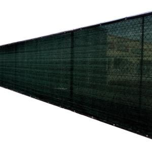 Fence4ever 46 In X 50 Ft Black Privacy Fence Screen Plastic Netting Mesh Fabric Cover With Reinfor In 2020 Privacy Fence Screen Fence Screening Garden Privacy Screen