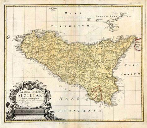 Cartina Sicilia Antica.83 Idee Su Sicilia Sicilia Mappe Antiche Mappe