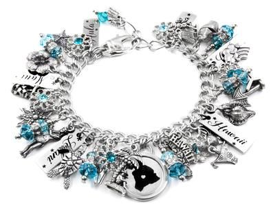 Wonderful I Love Hawaii Hawaiian Charm Bracelet Island Ndash Blackberry Designs Jewelry