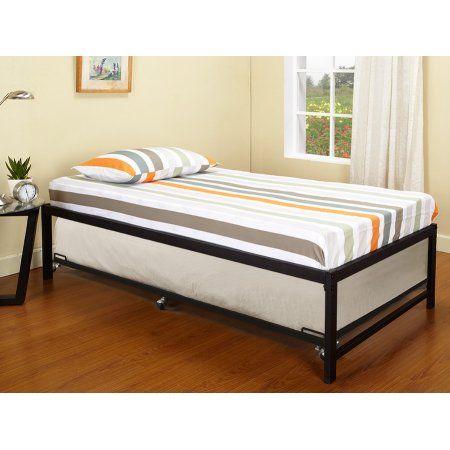 Home Trundle Bed Frame Platform Daybed Daybed Bedding