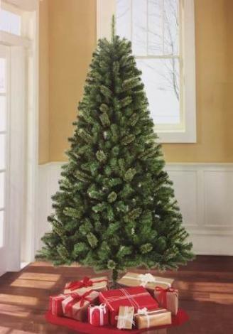 Arvore De Natal Pinheiro 1 80 M 180 Cm Com Glitter 450 Galhos