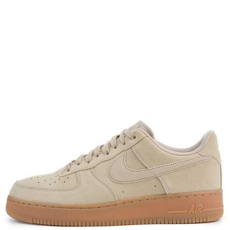 new styles 47e6a ba7e3 Nike Air Force 1  07 Lv8 Suede Mushroom gum Med Brown ivory