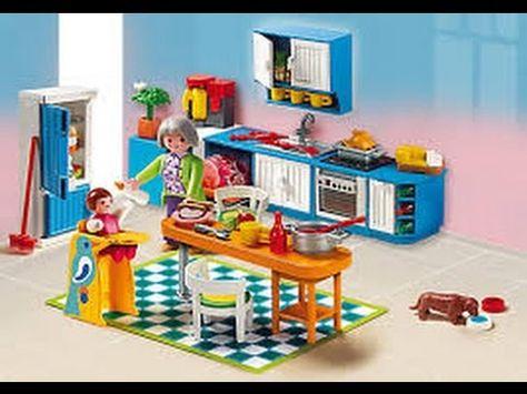 Moderne Playmobil Küche | Playmobil moderne Luxusvilla | Pinterest ...