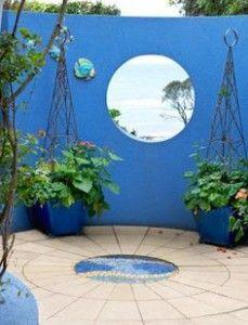 Peindre Un Mur De Jardin Inspiration En Couleurs