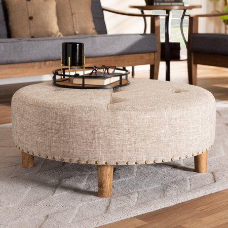 Baxton Studio Vinet Modern And Contemporary Beige Fabric