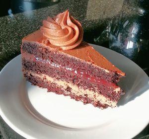 Chocolade cake zonder ei