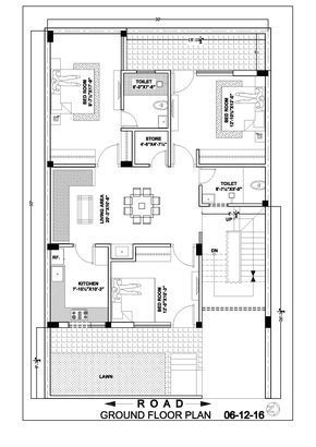 30 50 House Map Floor Plan 30x50 House Plans House Map Duplex Floor Plans