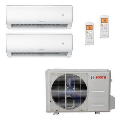 Bosch High Efficiency Ultra Quiet 27 000 Btu Energy Star Ductless