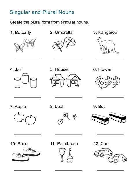 Singular And Plural Worksheets In 2020 Plurals Plural Nouns Worksheet Nouns Worksheet