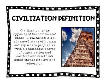 What Is A Civilization With Images Civilization Technology