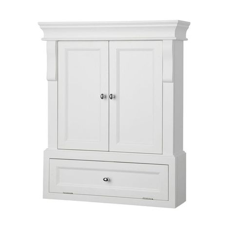 Foremost Naples 26 1 2 Inch Wide Wall Cabinet With 2 Adjustable
