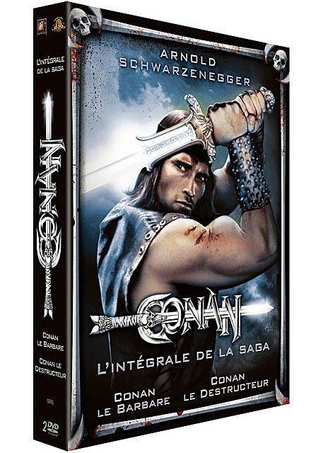 Conan L Integrale De La Saga Avec Arnold Schwartzenegger 1982 1984 Conan Blu Ray Sandahl Bergman