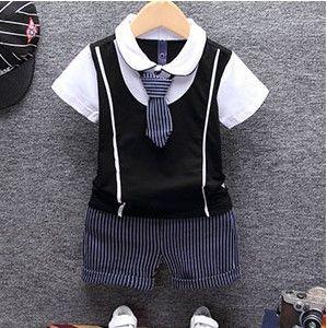 Infant Toddler /& Boy SAILOR SHORT SUIT 3PC for Wedding Party Easter Outift 0-24M