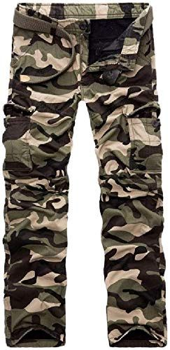 Best Seller Abetteric Men S Outdoor Camo Print Plus Velvet Thick