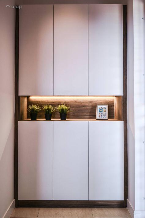 Contemporary Modern Foyer condominium design ideas & photos Malaysia | Atap.co