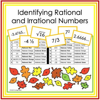 Pin On Rational And Irrational Numbers