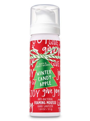 Winter Candy Apple Foaming Hand Sanitizer Bath And Body Works