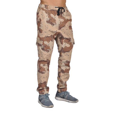 Dirty Robbers Men's Cotton/ 6-pocket Joggers