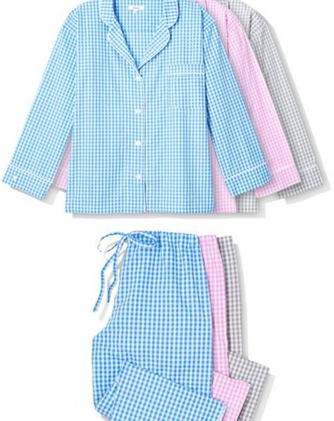 Cute gingham pajamas