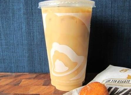 Taco Bell Iced Coffee Nutrition In 2020 Coffee Nutrition Coffee Calories Cinnabon Iced Coffee Recipe