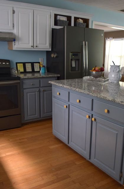 Dark Gray Kitchen Cabinets With Black Appliances GE Slate - Slate grey cabinets