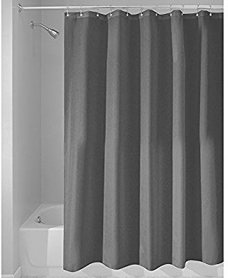 Amazon Com Interdesign Mildew Free Water Repellent Fabric Shower Curtain 72 Inch By 72 Inch Cool Shower Curtains Fabric Shower Curtains Cheap Shower Curtains