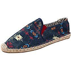 Dooxii Unisex Hombre Mujer Ocasionales Antideslizante Loafer Zapatos Moda Rayas Planos Alpargatas