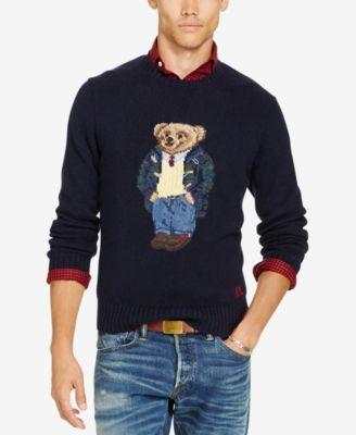 5ae01c654cc3 POLO RALPH LAUREN Polo Ralph Lauren Men S Big  Amp  Tall Polo Bear Sweater.   poloralphlauren  cloth   sweaters