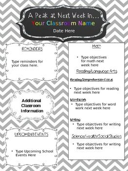Download Newsletter Templates For Teachers    Templates For Our