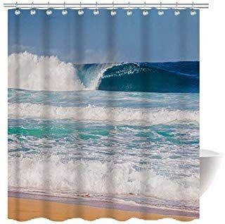 Amazon Com Nautical Shower Curtain Shower Curtains Shower
