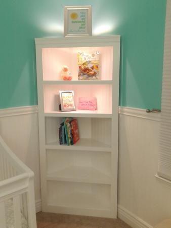 Corner Shelf For Nursery Do It Yourself Home Projects From Ana White Nursery Shelves Diy Corner Shelf Home Diy