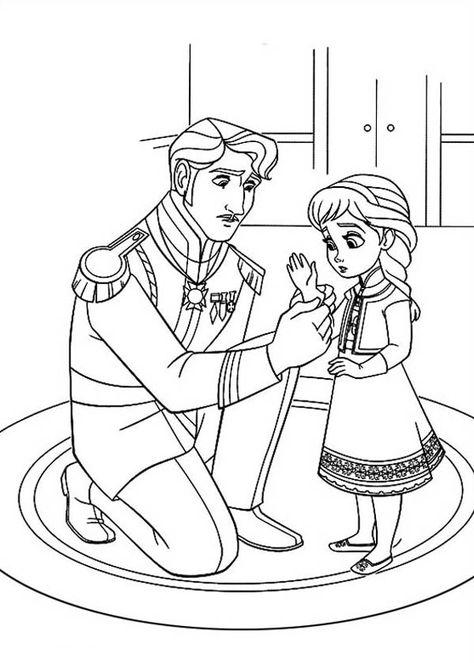 Elsa Coloring Pages Kid Display