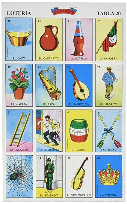 Don Clemente Autentica Loteria Mexican Loteria Mexicana Cartas Cartas De Loteria Mexicana Loteria Juego