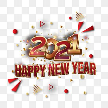 Abstract 2021 New Year Transparent Design For Poster 3d Decorative Luxury Png And Vector With Transparent Background For Free Download New Year Banner Happy New Year Wallpaper New Years Poster