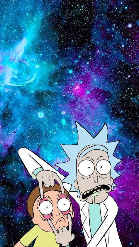 Rick And Morty Phone Wallpaper Wallpaper De Desenhos