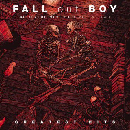 Fall Out Boy Pete Wentz Patrick Stump VIP Gigposter Skulls Boys of Zummer USA Tour Poster Rare