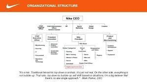Nike S Organizational Structure Pros Cons Organizational Structure Organizational Organizational Chart