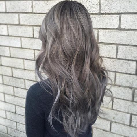 Beautiful Light Gray Brown Hair