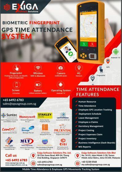 Biometric Fingerprint GPS TIME Attendance System | biometric