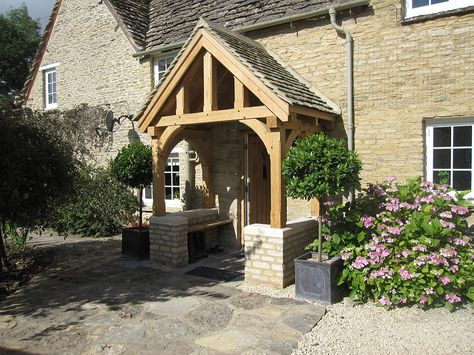 A Gallery Of Oak Porch Designs Call 01423 593794 For Details House With Porch Porch Design Cottage Front Doors