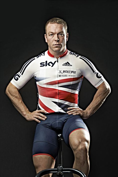 Sir Chris Hoy - eleven-time world champion, six-time Olympic champion and a winner of a total of seven Olympic Games medals (6 Gold)