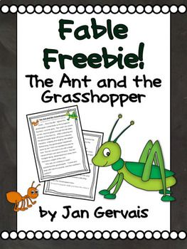 picture about The Ant and the Grasshopper Story Printable known as The Ant and the Grhopper Tale Playing cards Worksheet